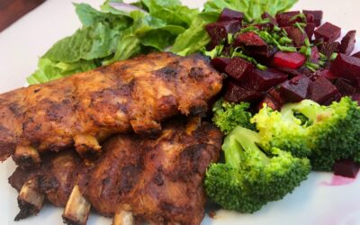Pieczone żeberka – keto dieta