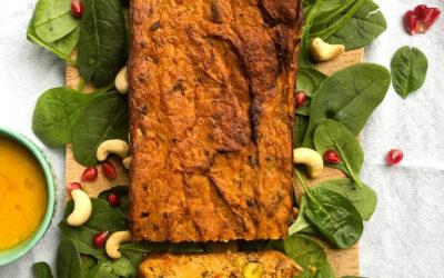 Warzywny pasztet z pistacjami