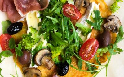 Wegański omlet z ciecierzycy – soca bez jajek i bez glutenu