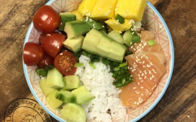 Łosoś wędzony z mango i awokado – pyszny i kolorowy posiłek